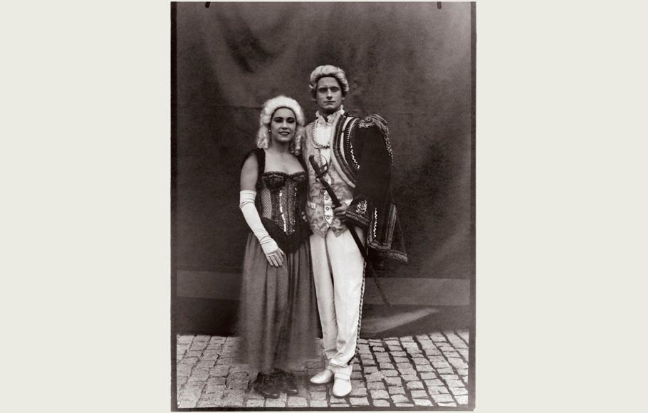 Retrato de Jerzy Swider y Luisa Raluy.