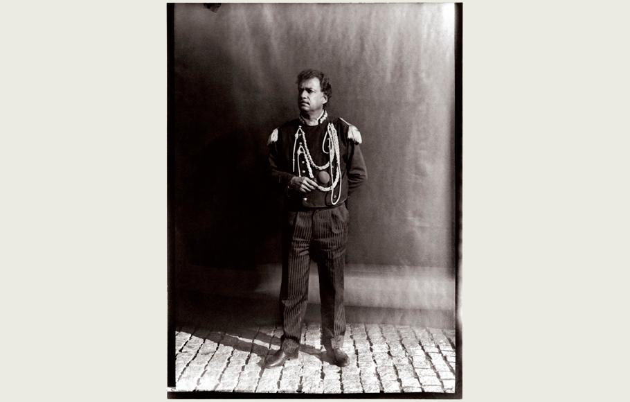 Retrato de Carles Raluy, como jefe de pista.
