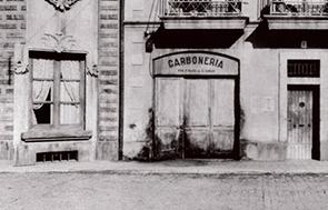 """Fotografía panorámica de gran formato, """"Calle de Tordera""""."""